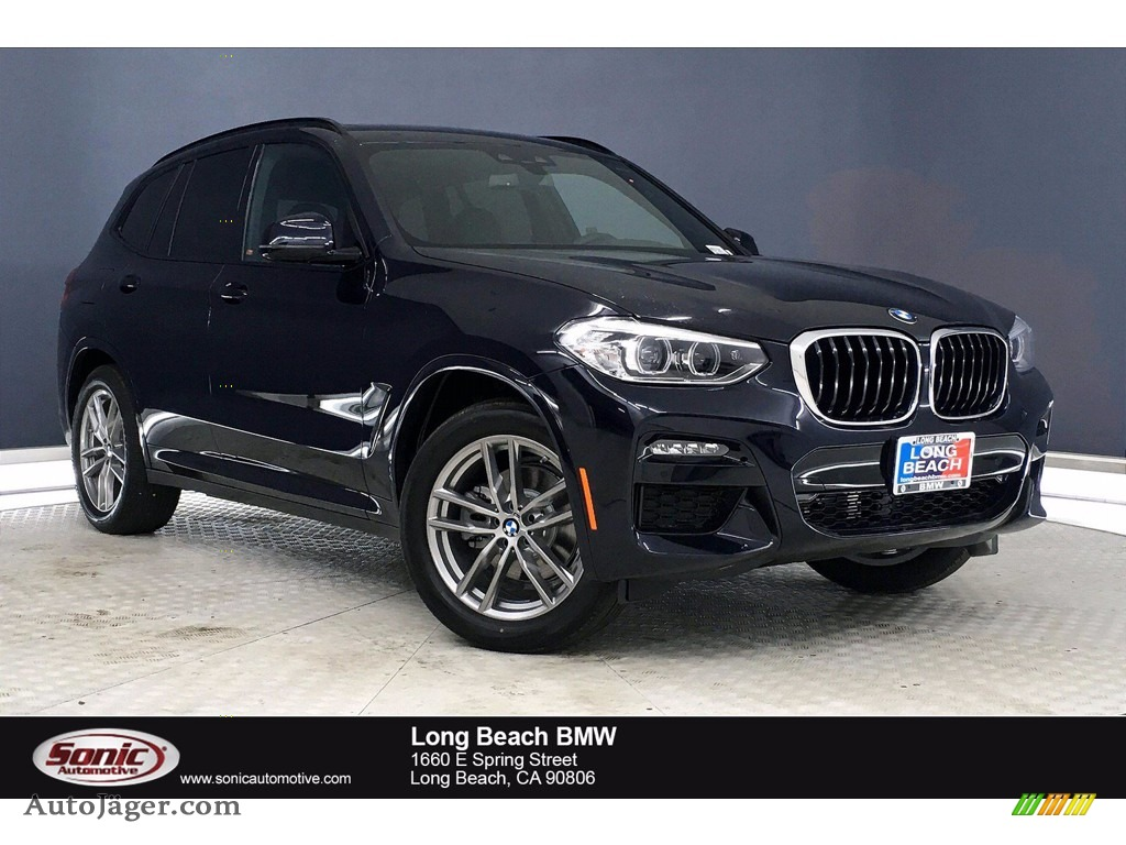 Carbon Black Metallic / Black BMW X3 xDrive30i