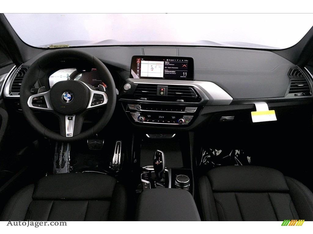 2021 X3 xDrive30i - Carbon Black Metallic / Black photo #5