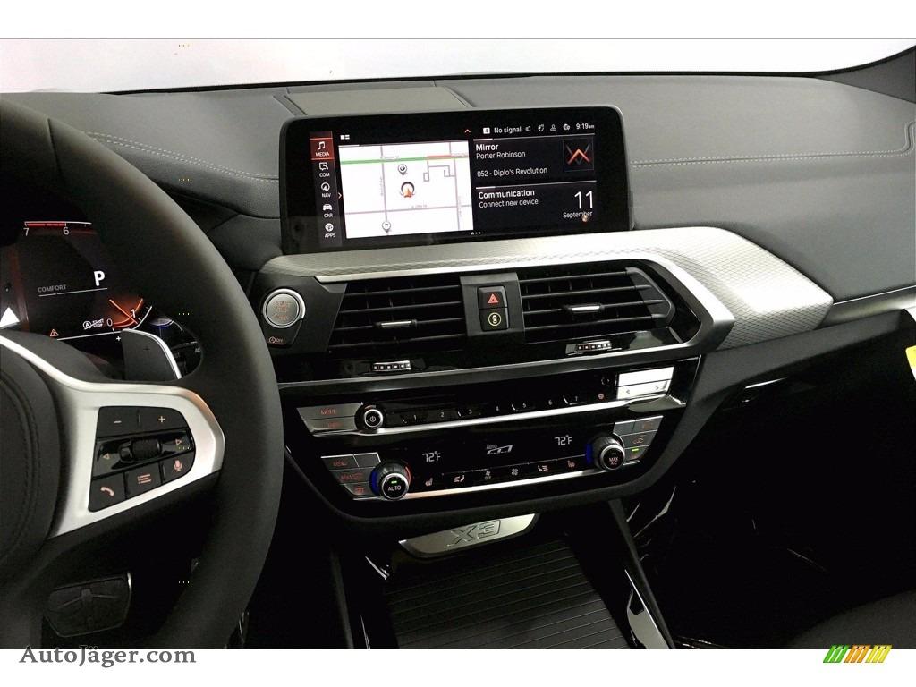 2021 X3 xDrive30i - Carbon Black Metallic / Black photo #6