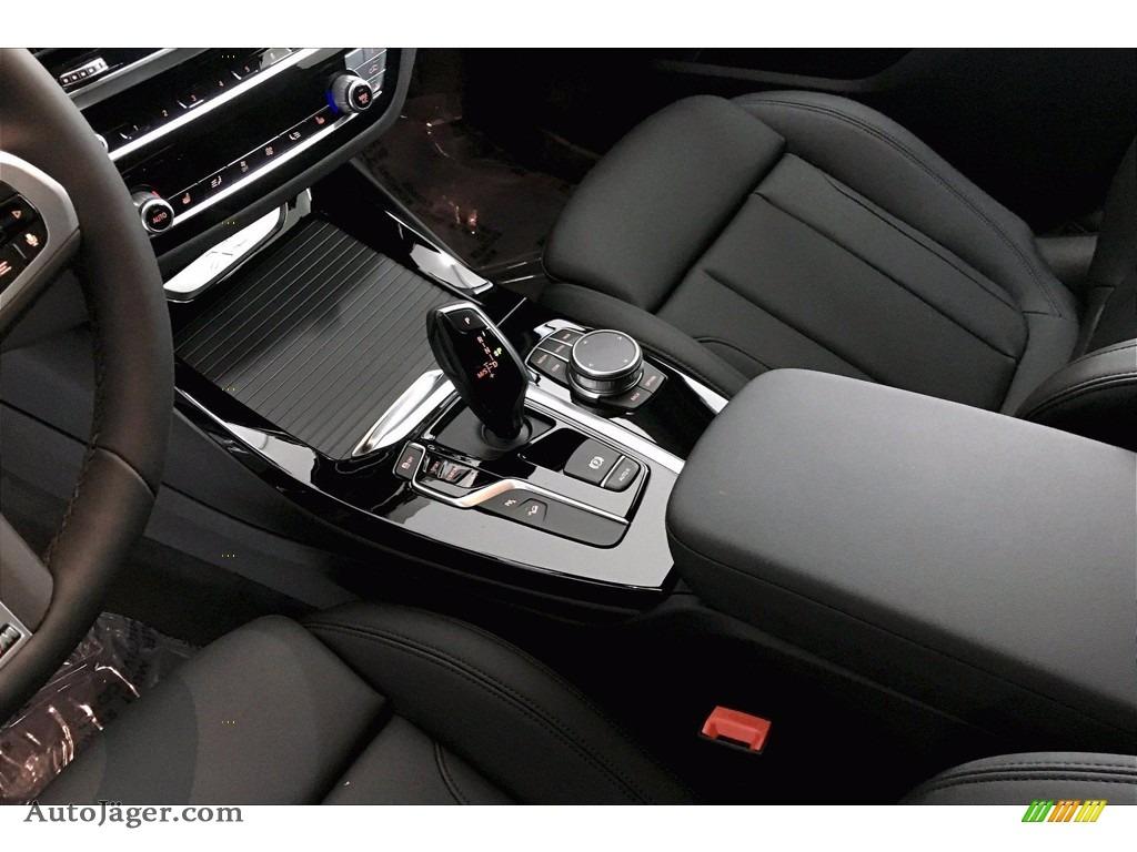 2021 X3 xDrive30i - Carbon Black Metallic / Black photo #8