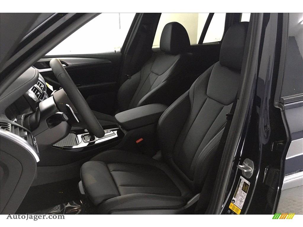 2021 X3 xDrive30i - Carbon Black Metallic / Black photo #9