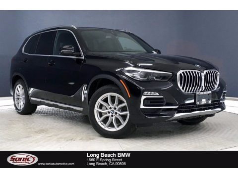 Jet Black 2020 BMW X5 xDrive40i