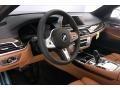 BMW 7 Series 740i Sedan Black Sapphire Metallic photo #7