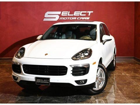 Carrara White Metallic 2017 Porsche Cayenne Platinum Edition