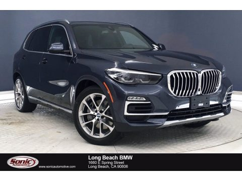 Arctic Gray Metallic 2021 BMW X5 xDrive45e
