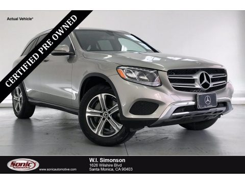 Mojave Silver Metallic 2019 Mercedes-Benz GLC 300