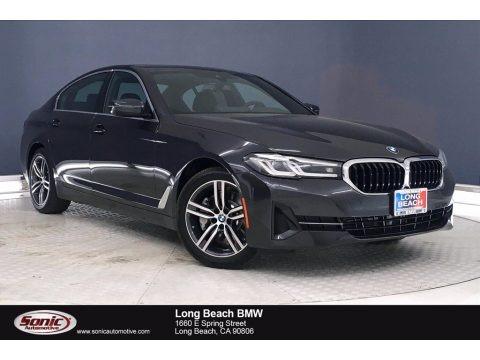 Dark Graphite Metallic 2021 BMW 5 Series 530e Sedan