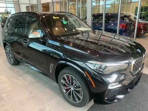 Black Sapphire Metallic 2021 BMW X5 M50i
