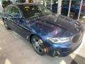 BMW 5 Series 530i xDrive Sedan Phytonic Blue Metallic photo #1