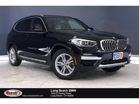 Jet Black 2021 BMW X3 sDrive30i