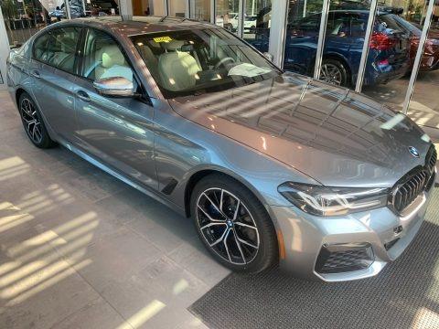 Bluestone Metallic 2021 BMW 5 Series 540i xDrive Sedan