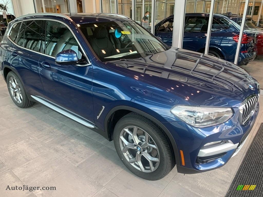 2021 X3 xDrive30i - Phytonic Blue Metallic / Black photo #1