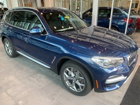 Phytonic Blue Metallic 2021 BMW X3 xDrive30i