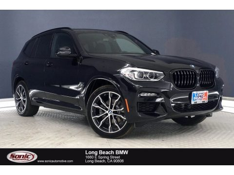 Black Sapphire Metallic 2021 BMW X3 sDrive30i