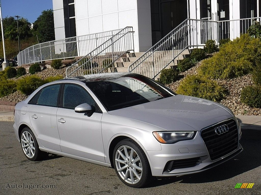 2015 A3 2.0 TDI Premium - Florett Silver Metallic / Titanium Gray photo #1