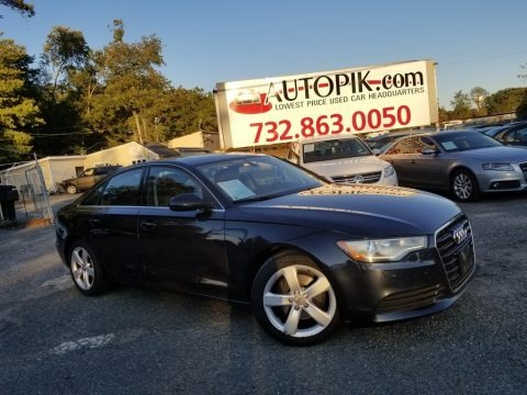 Moonlight Blue Metallic 2012 Audi A6 2.0T Sedan