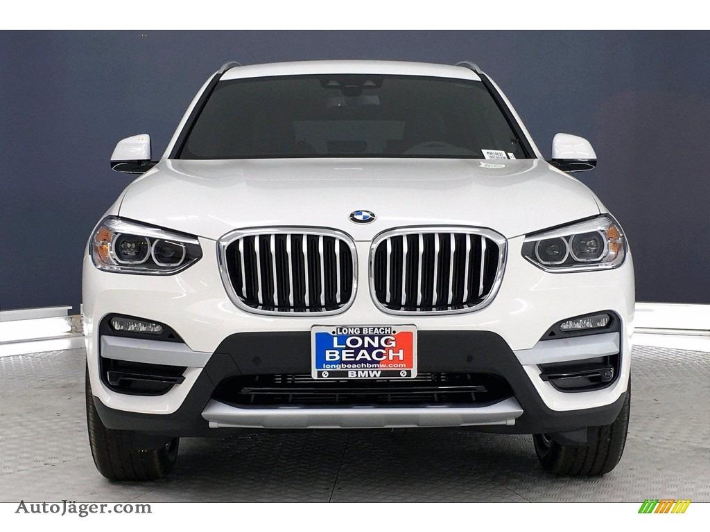 2021 X3 xDrive30i - Alpine White / Black photo #2