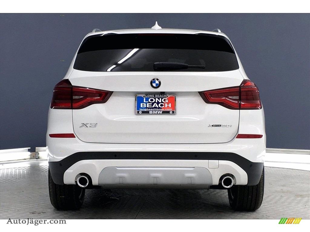 2021 X3 xDrive30i - Alpine White / Black photo #4