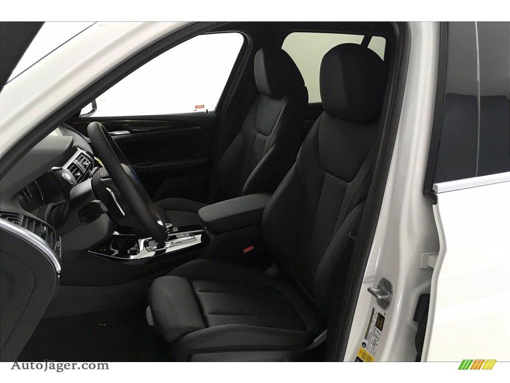 2021 X3 xDrive30i - Alpine White / Black photo #9