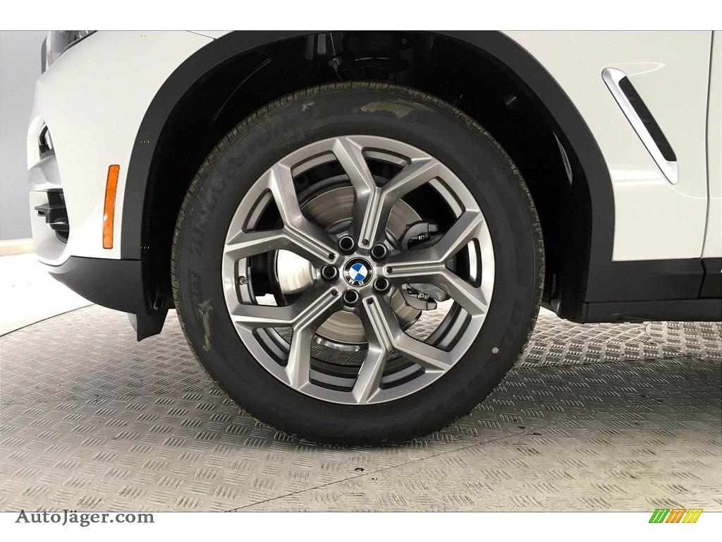 2021 X3 xDrive30i - Alpine White / Black photo #12