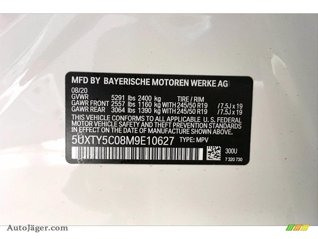 2021 X3 xDrive30i - Alpine White / Black photo #18