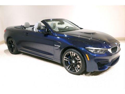 Tanzanite Blue Metallic 2018 BMW M4 Convertible