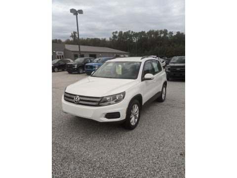 Pure White 2017 Volkswagen Tiguan Limited 2.0T 4Motion