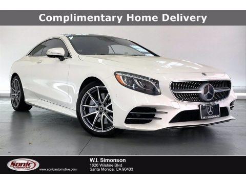 designo Diamond White Metallic 2020 Mercedes-Benz S 560 4Matic Coupe
