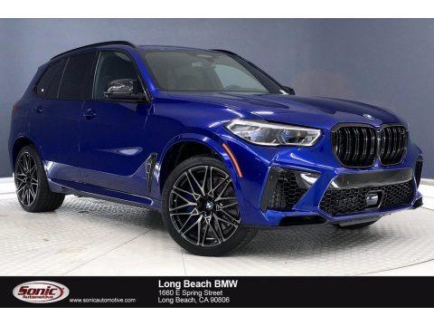 Marina Bay Blue Metallic 2021 BMW X5 M