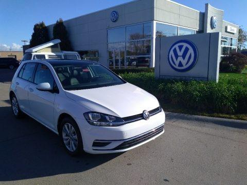 Pure White 2020 Volkswagen Golf 1.4T