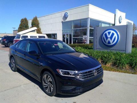 Black 2020 Volkswagen Jetta SEL