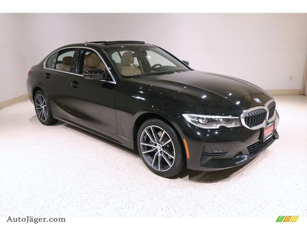 Jet Black / Canberra Beige BMW 3 Series 330i xDrive Sedan