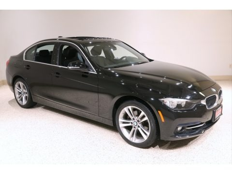 Jet Black 2017 BMW 3 Series 330i xDrive Sedan