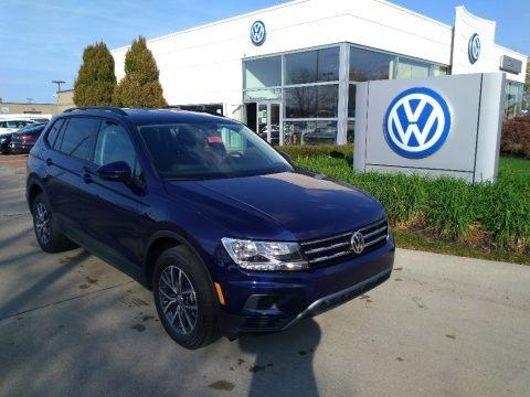 Atlantic Blue Metallic 2021 Volkswagen Tiguan S