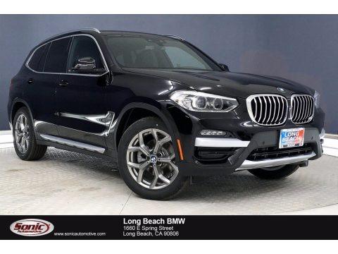 Jet Black 2021 BMW X3 sDrive30i