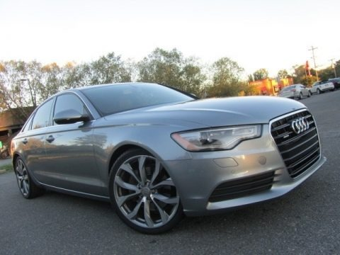 Dakota Gray Metallic 2014 Audi A6 2.0T quattro Sedan
