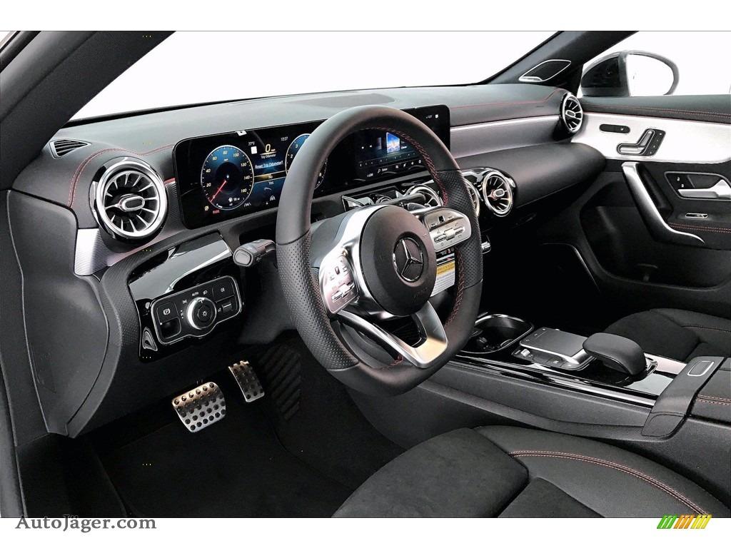 2021 CLA 250 Coupe - Polar White / Black Dinamica w/Red Stitching photo #4