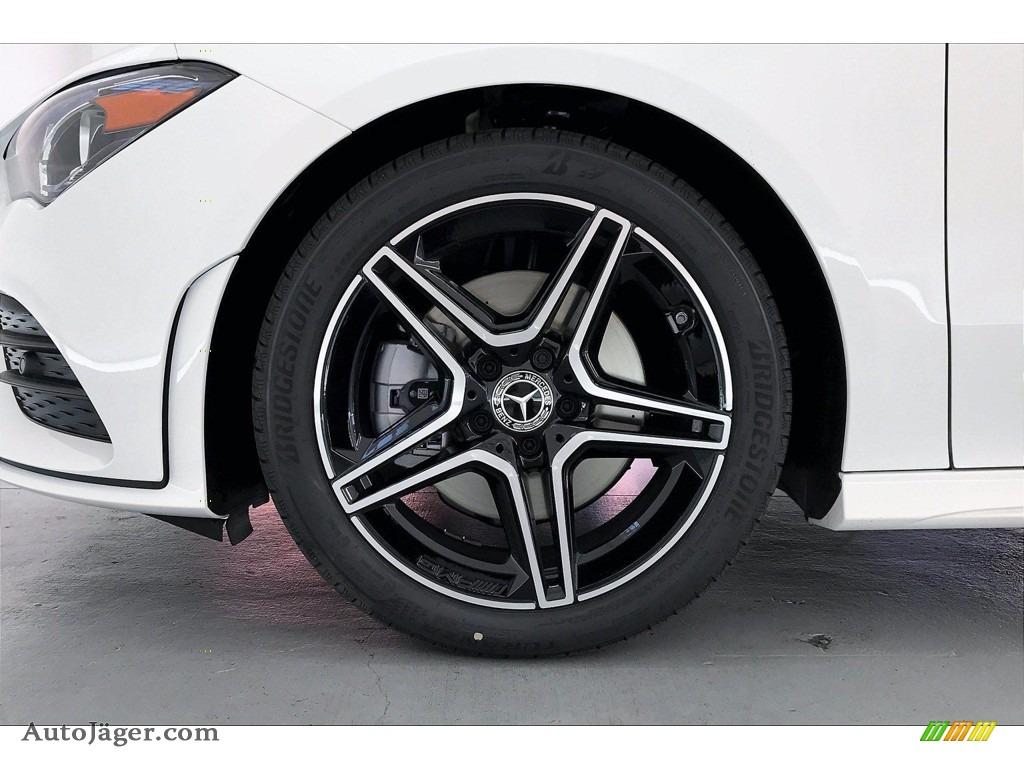 2021 CLA 250 Coupe - Polar White / Black Dinamica w/Red Stitching photo #9