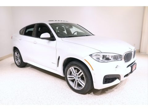 Mineral White Metallic 2018 BMW X6 xDrive50i
