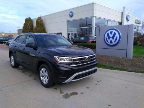 Deep Black Pearl 2021 Volkswagen Atlas Cross Sport S 4Motion