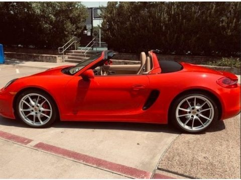 Guards Red 2015 Porsche Boxster S