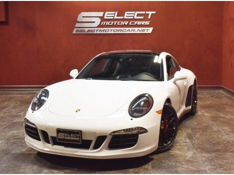 Carrara White Metallic 2016 Porsche 911 Carrera GTS Coupe