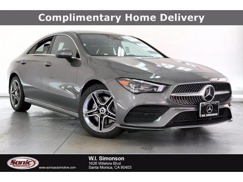 Mountain Grey Metallic 2020 Mercedes-Benz CLA 250 Coupe