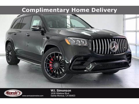Obsidian Black Metallic 2021 Mercedes-Benz GLS 63 AMG 4Matic