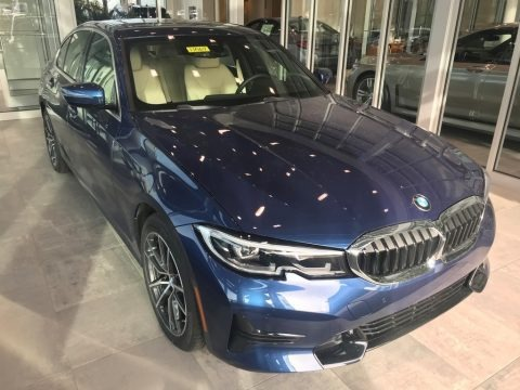 Phytonic Blue Metallic 2021 BMW 3 Series 330i xDrive Sedan