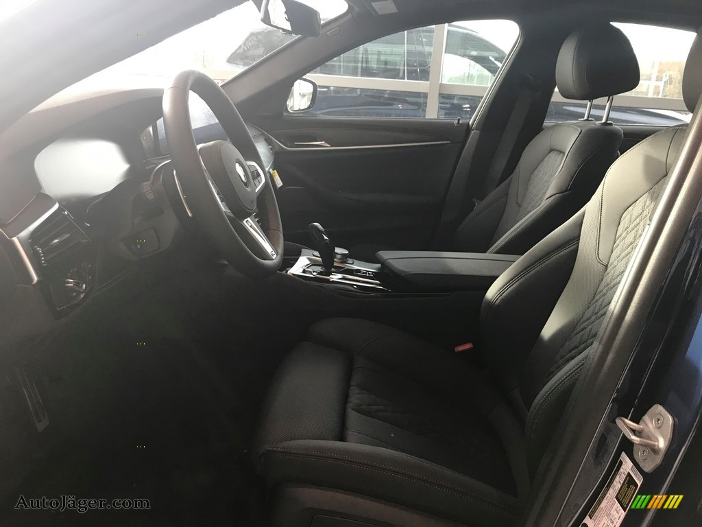 2021 5 Series 530i xDrive Sedan - Phytonic Blue Metallic / Black photo #3