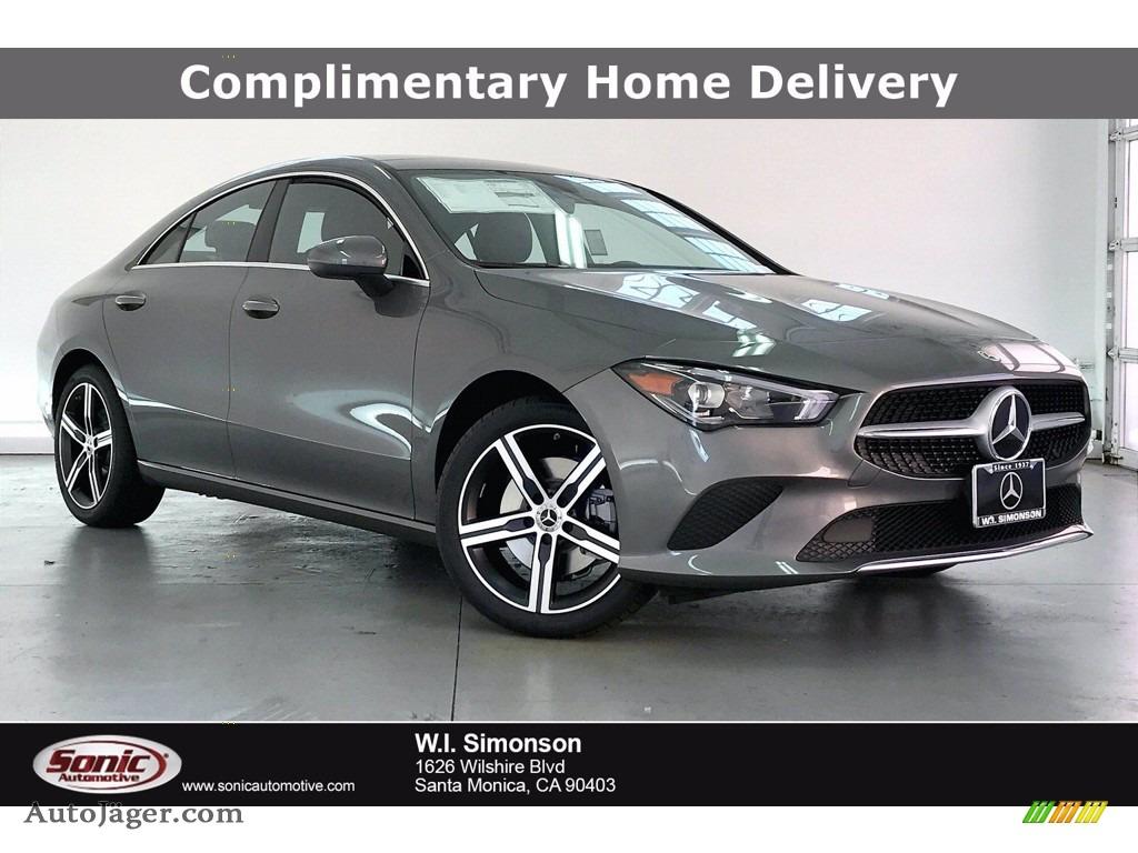 2021 CLA 250 Coupe - Mountain Gray Metallic / Black photo #1