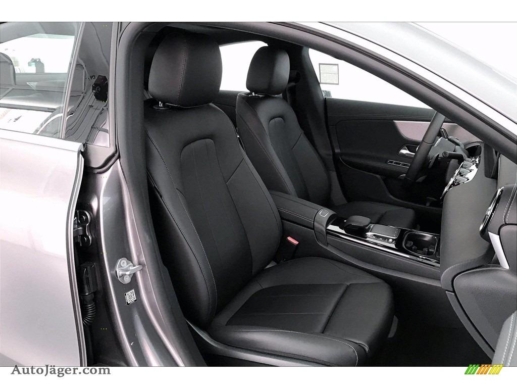 2021 CLA 250 Coupe - Mountain Gray Metallic / Black photo #5