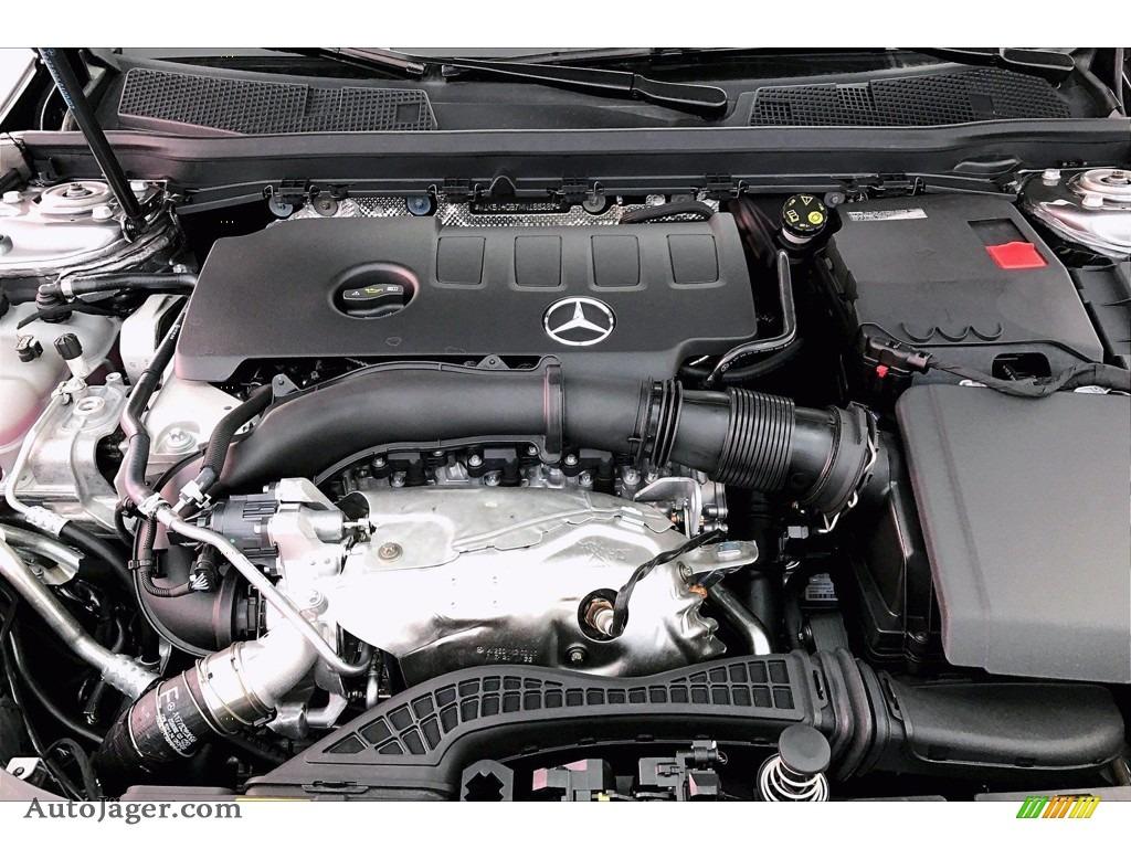 2021 CLA 250 Coupe - Mountain Gray Metallic / Black photo #8