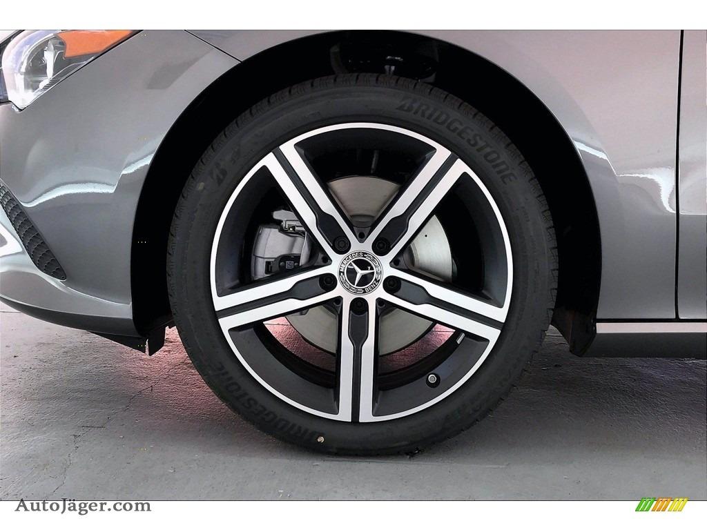 2021 CLA 250 Coupe - Mountain Gray Metallic / Black photo #9